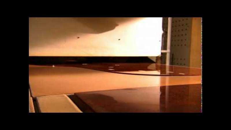 Fazioli 26(30) — Sanding and Polishing