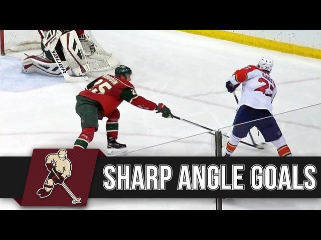 NHL: Sharp Angle Goals