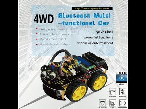 Распаковка Arduino Smart Car Kit l AliExpress
