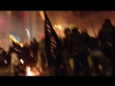 Архивное видео противостояния на ЕвроМайдане в Киеве Исторически переломный момент
