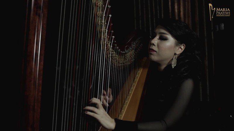 ADELE - Rolling In The [Harp Cover] by Maria Pratiwi The Harpist