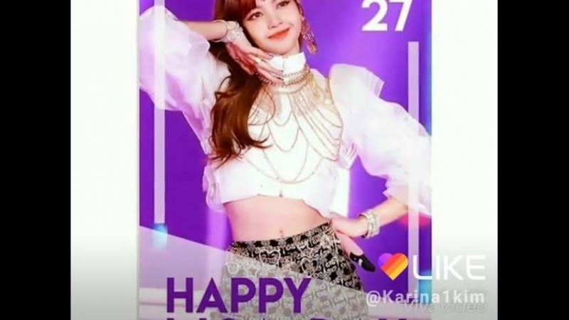 27.03.18 HAPPY BIRTH-DAY LISA