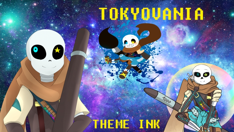 Tokyovania Theme Ink Мегалования Инка