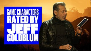 Jeff Goldblum Rates Video Game Characters - Jeff Goldblum Jurassic World Evolution Interview