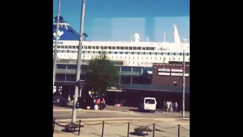Паром Selja Line Хельсинки