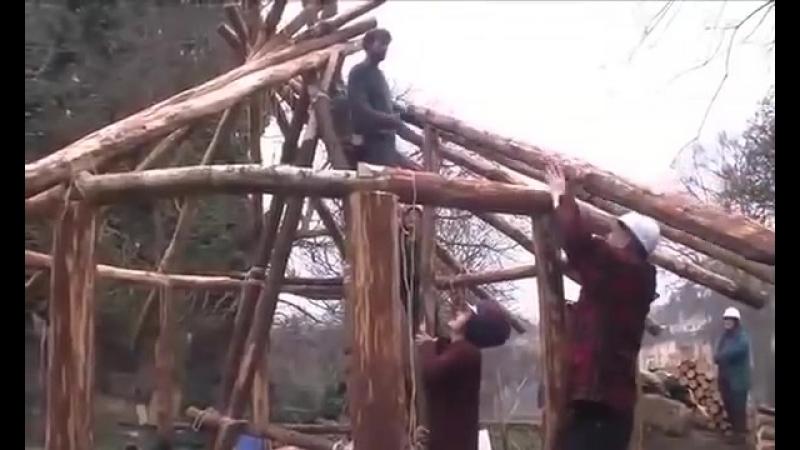 Ресипрокальная крыша
