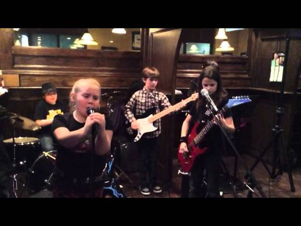 Fast As Lightning performing Barracuda at Brian Boru Restaurant and Pub 3 22 15