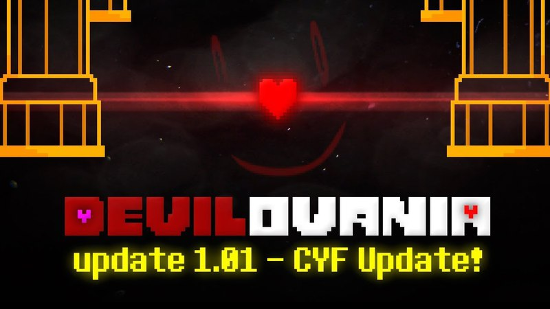 DEVILOVANIA UPDATE 1.01 - CYF Update | StoryShift Chara Unitale Encounter