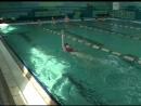 Плавание - первые уроки 3. Кроль на спине