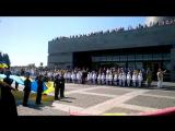 05.05.17. Фрагмент Парада на Родине-Матери. Выступление Натальи Бучинской.