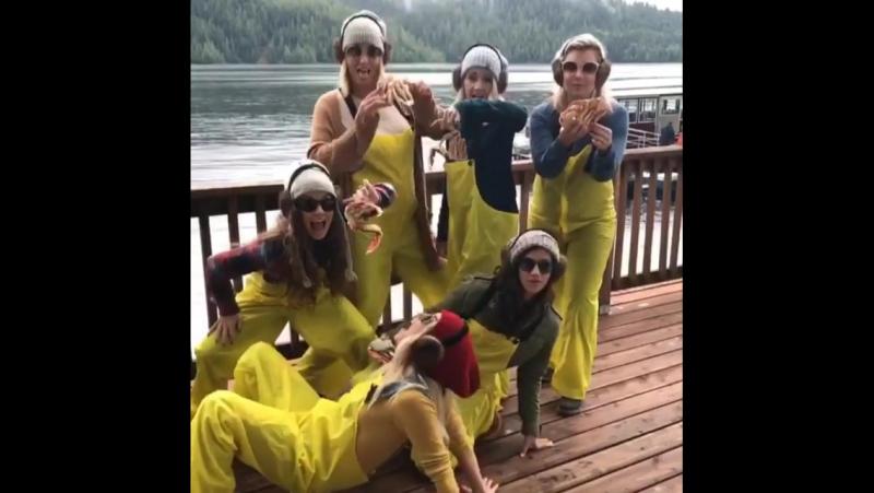 Встреча со школьными друзьями (14 августа 2017 / Кетчикан, Аляска, США)
