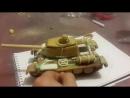 в процессе изготовления Т-34 85