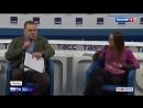 Россия 24 - Собчак окатила Жириновского водой во время дебатов - Россия 24