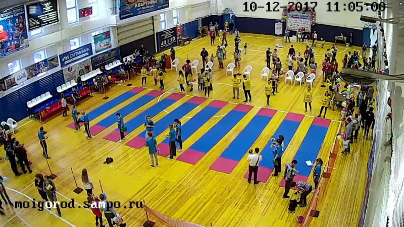 Съемка VII Марафона ползунков Маленький Чемпион 10.12.17г_1 камера
