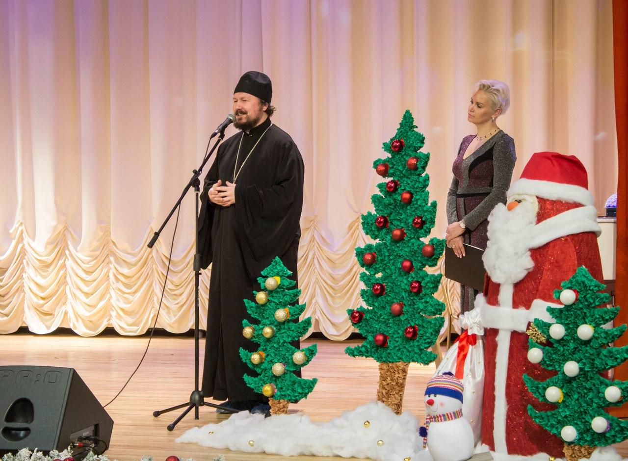 Новогодний праздник в Пансионате для ветеранов труда №1