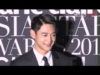 171013 Minho на красной дорожке 2017 asia star awards