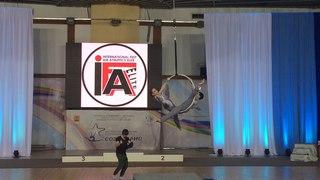 Anzhela Kulagina & Maria Baglay - Doubles Winners International Air Athletics Fest Elite 2018.