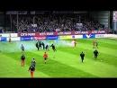 Platzsturm Fahnen-Klau Holstein Kiel vs. St. Pauli (19.09.2017)