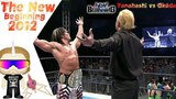 Hiroshi Tanahashi vs Kazuchika Okada. IWGP Heavyweight Championship match at The New Beginning 2012