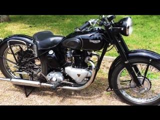 Мотоцикл Triumph 3T 350cc, 1947 года
