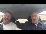 Сын с отцом спели в машине