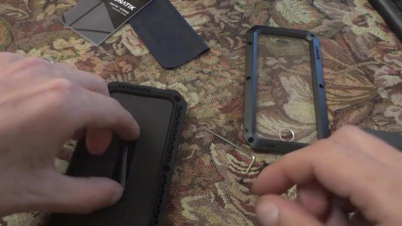 Lunatik броне чехол для iPhone 5/5s