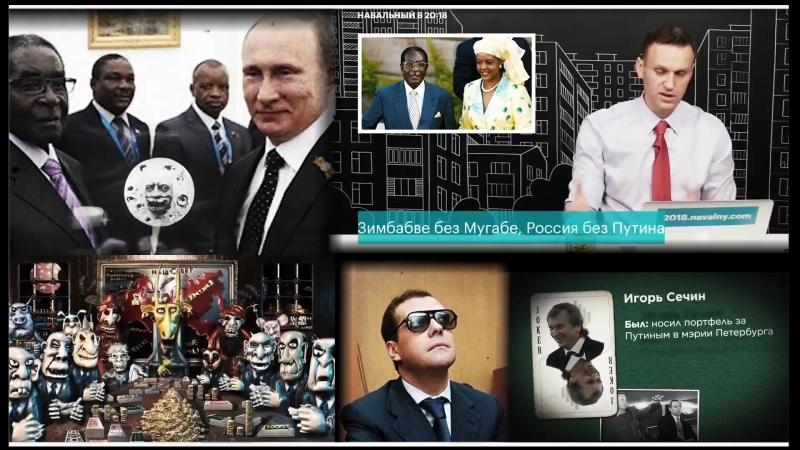 Навальный - Близнецы по рейтингам Мугабе и Путин дорога в один конец