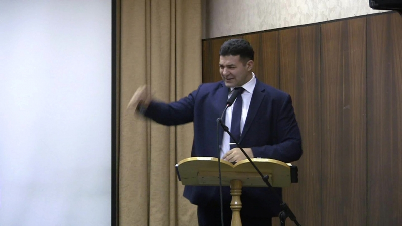 Проповедь (Исцеление слепого) Аристов С.В.