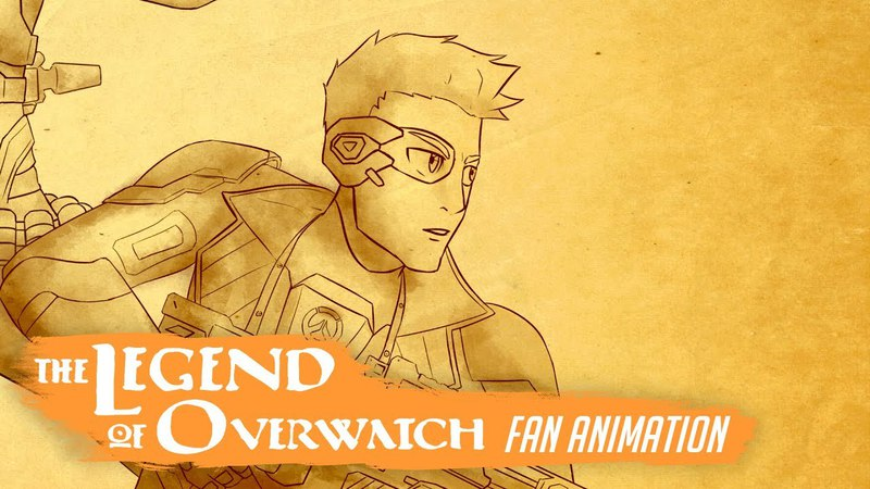 The Legend of Overwatch (Avatar Overwatch crossover animation)