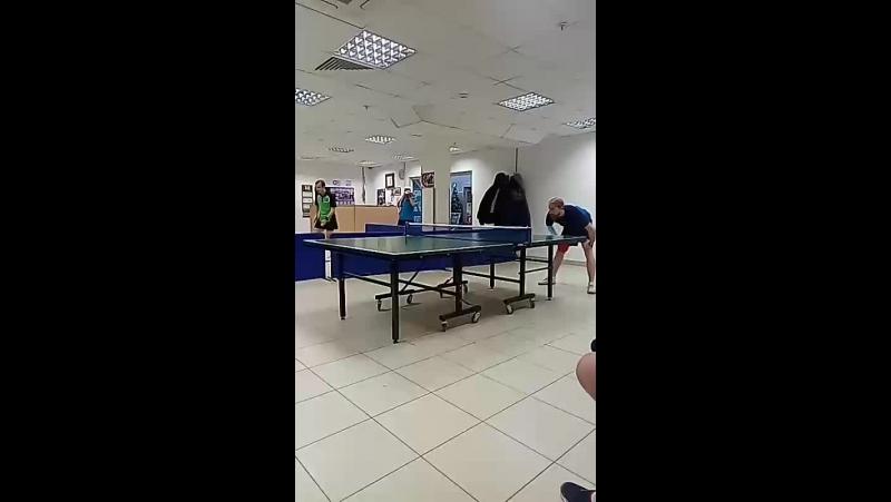Настольный теннис, ТЦ Айсберг, клуб Нигина