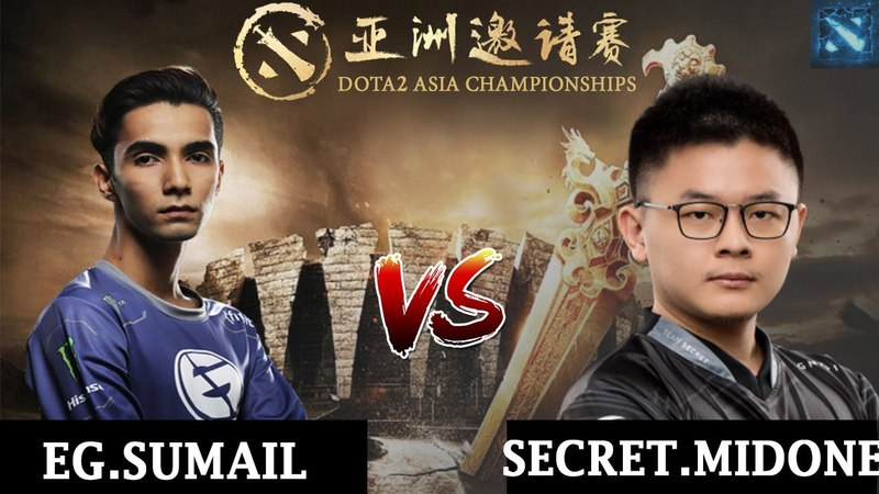 EG.Sumail vs Secret.MidOne | 1 v 1 Solo Mid | DAC 2018 Major | 1/2 | 5.04.2018