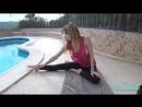 Jennifer Ann sexy yoga