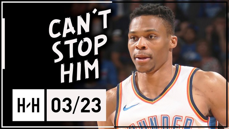 Russell Westbrook Full Highlights Thunder vs Heat (2018.03.23) - 29 Pts, 13 Reb, 8 Ast, CLUTCH!