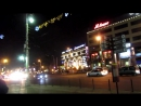 Калининград вечерний сияет новогодними огнями, 17.12.17