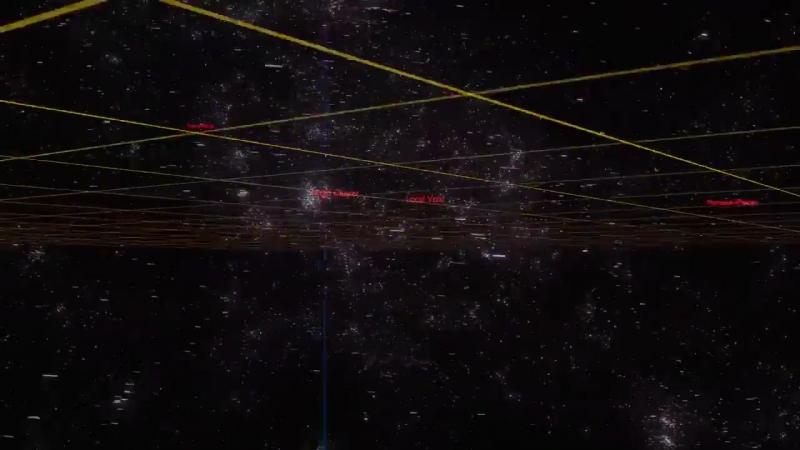 Галактики вокруг нашей галактики Млечный путь (Milky Way)