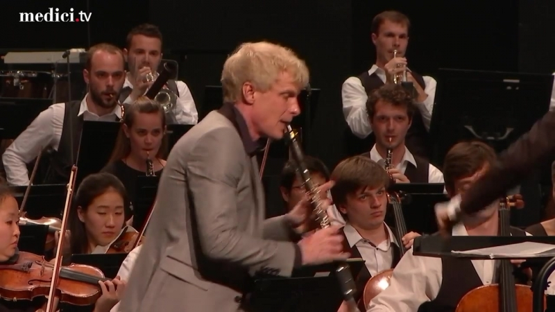 Joshua Weilerstein, with Martin Fröst - Artie Shaw_ Concerto for Clarinet