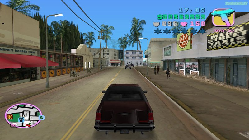 Прохождение GTA Vice City на 100% Угон автомобилей Список 2