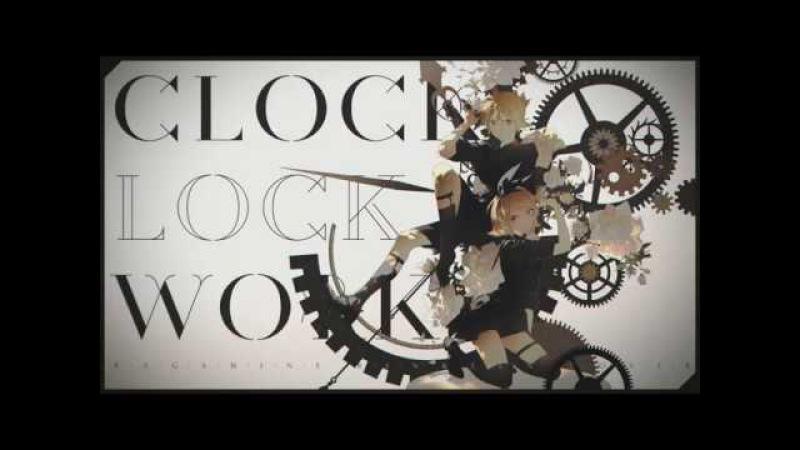 【Kagamine RinLen V4X】 clock lock works 【鏡音リン・レンV4X (COVER)】