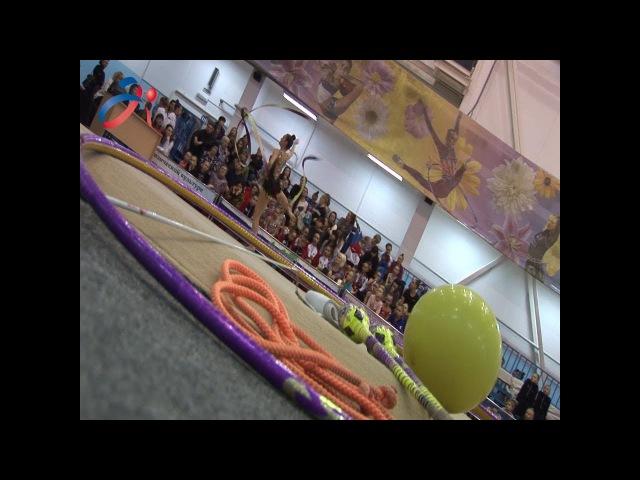 Художественная гимнастика Всероссийские соревнования Виктория ОФСОО Аванг