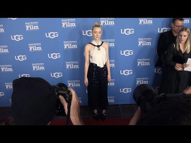 Saoirse Ronan 2018 SBIFF 'Santa Barbara Award' Red Carpet