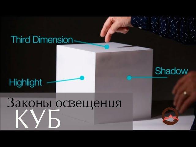 Фотогора. Законы освещения. Урок второй - куб