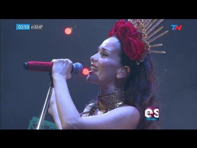 Natalia Oreiro Paisaje Festival AcercArte Mar del Plata 2017