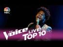 "The Voice 2017 Davon Fleming - Top 10: ""Hurt"""