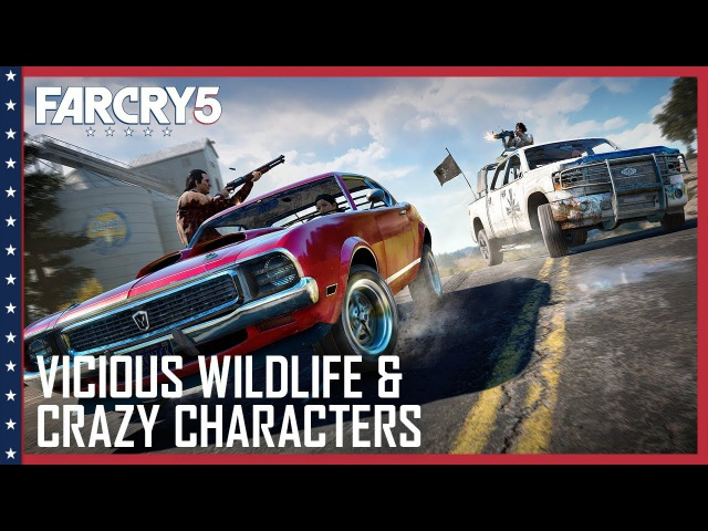Far Cry 5: Vicious Wildlife, A Crazy Cast of Characters, and Co-Op Hijinks UbiBlog Ubisoft [US]