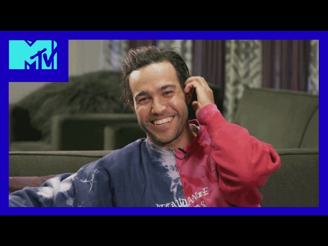Pete Wentz Reacts To His 2007 VMA Performance w/ Fall Out Boy | 2017 Video Music Awards | MTV
