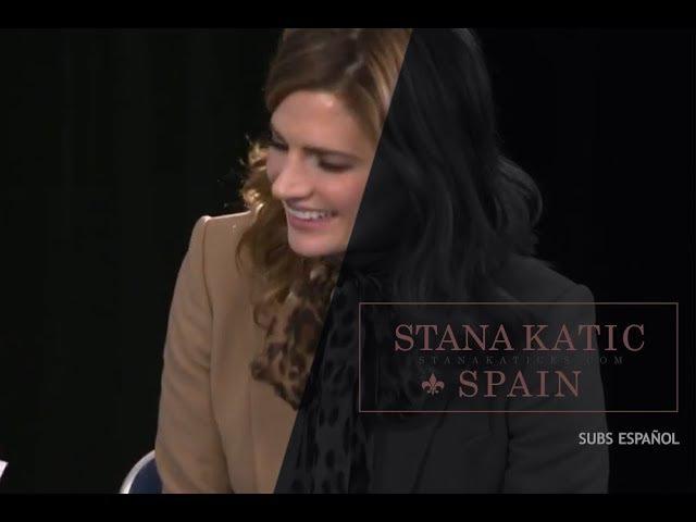 Stana Katic habla sobre algunas fotos de su Instagram (subs español)