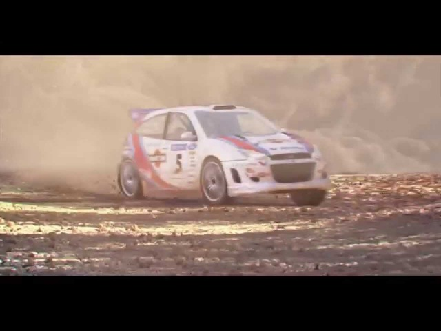 CGI 3D Animated WRC Car Drift (3dsMaxFumeFXTP)