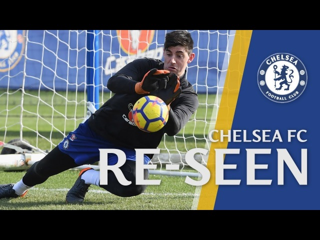 Incredible Courtois Reactions and David Luiz Basketball Skills I Chelsea Re-Seen