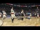 "Serbian Folklore Ensemble KOLO"" at ACC 2017Jan22 NBA halftime Raptors vs Phoenix Suns floor"