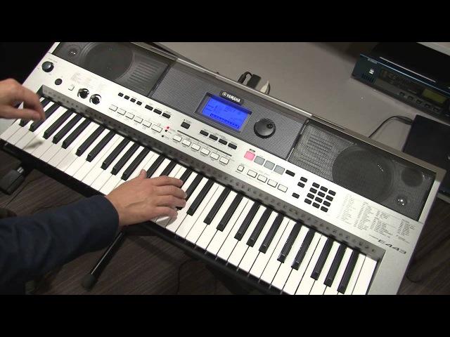 Функция PATTERN инструмента Yamaha PSR-E443